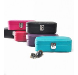Small Leather Jewelry Box (FD-301)
