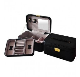 Large Leather Jewelry Box (FD-303)